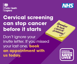 Cervical screening can stop cancer before it starts