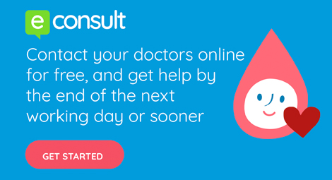 Contact your doctors online for free, and get help by the end of the next working day or sooner