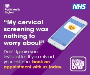 My cervical screening was nothing to worry about